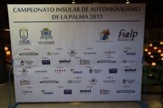 ENTREGA DE TROFEOS 2013 PROVINCIAL DE TENERIFE E INSULAR DE LA PALMA