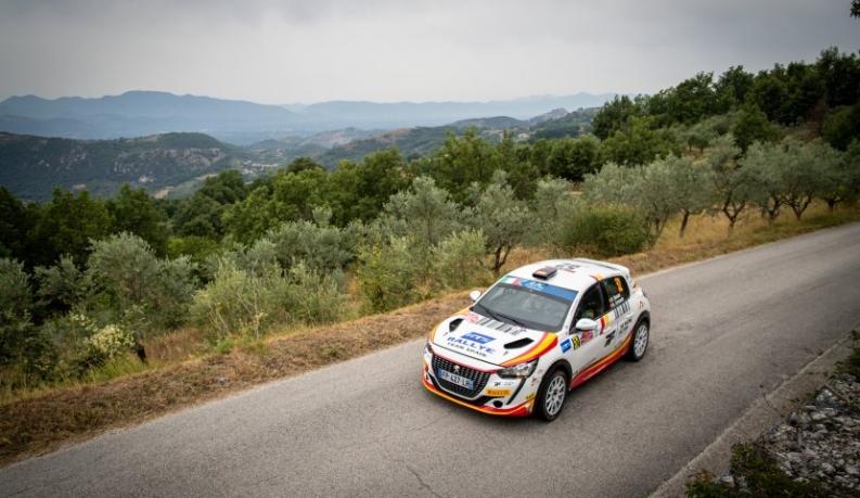Gran actuación en Italia del Rally Team Spain