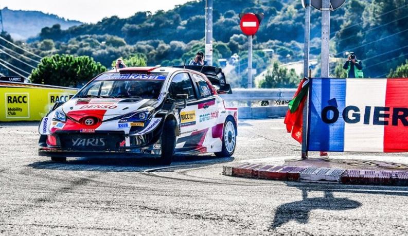 Ogier, el más rápido en el shakedown del Rallye España-Cataluña