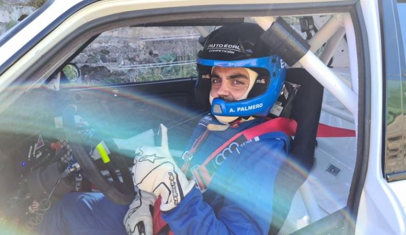Auto Édal Competición con D. Pedomo con el Clio Cup y A. Palmero con el 325i E30 en la IV Subida a San Isidro