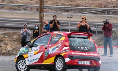 Armiche Mendoza completó el Rallye Orvecame Isla Tenerife