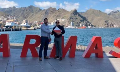 Naviera Armas y la Federación Insular de La Palma renuevan su acuerdo de colaboración