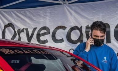Armiche Mendoza en el Rallye Villa de Teror