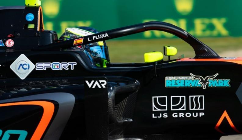 Lorenzo Fluxá compite con Alpine dentro del GP de España de F1