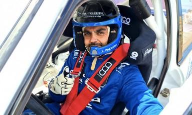 Alejandro Palmero finalizó la X Subida a Santo Domingo 2021