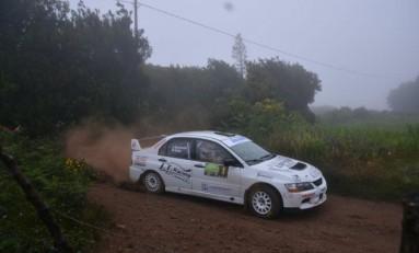 Tacoronte y Sáez repiten victoria en el Rallye Isla Verde