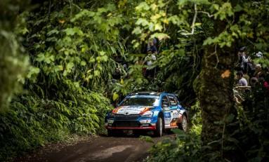 Llarena, tercero en Azores y segundo en el FIA ERC