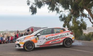 Primera victoria de la temporada para el Renault Clio Rally4 de MotorValle Rallye Team