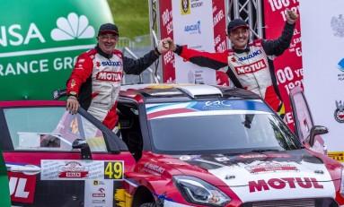 Vinyes - Mercader (Suzuki Swift R4lly) superaron la exigencia de un Rally de Polonia espectacular